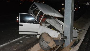 Sivas'ta feci kaza: 2 yaralı