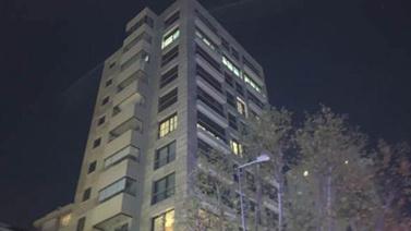 Kadıköy'de 11 katlı binada yangın!