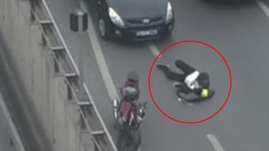 Avcılar'da kaza: 1 yaralı