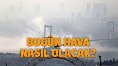 İstanbul sisli bir sabaha uyandı