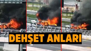 İstanbul Havalimanı'nda dehşet anları