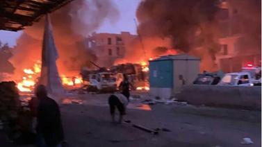 Afrin'de hain saldırı!.. Ölenler var!