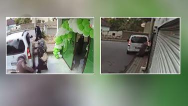 Sivas'ta dehşete düşüren kaza kamerada