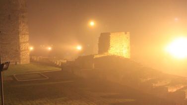 İstanbul sise uyandı