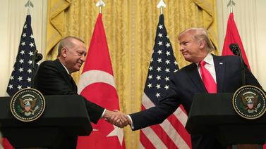 Erdoğan ve Trump ortak basın toplantısı düzenledi