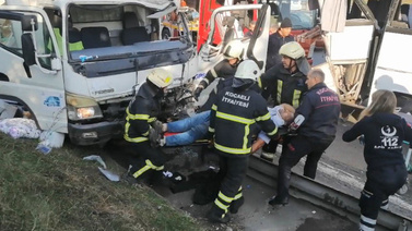 Feci kazada can pazarı!