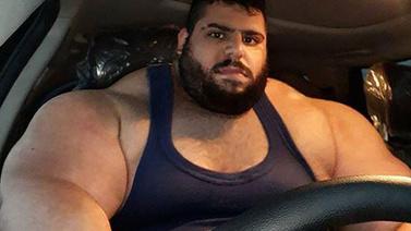 İranlı Hulk, Amerika'da dövüşe katılacak!