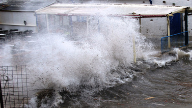 Fırtına Bodrum'da kabus oldu