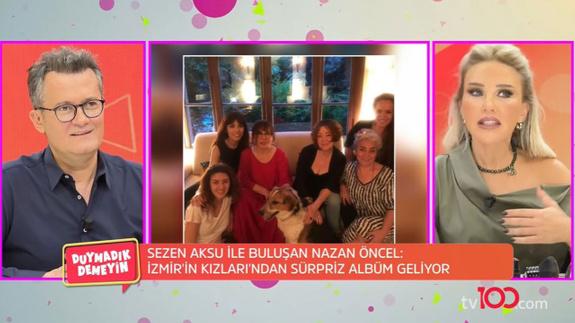 Sezen Aksu ve Nazan Öncel'den sürpriz proje