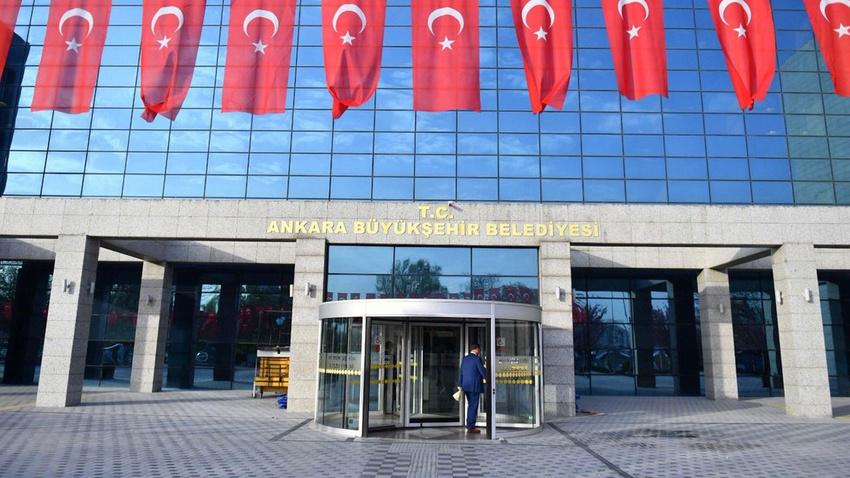 Ankara Büyükşehir Belediyesinin tabelası değişti