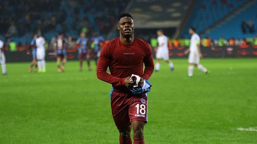 Trabzonspor'da Ekuban ameliyat oldu