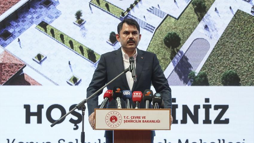 Şehircilik Bakanı: Şehirlerimizin çevresini baştan aşağı değiştirmeyi hedefliyoruz