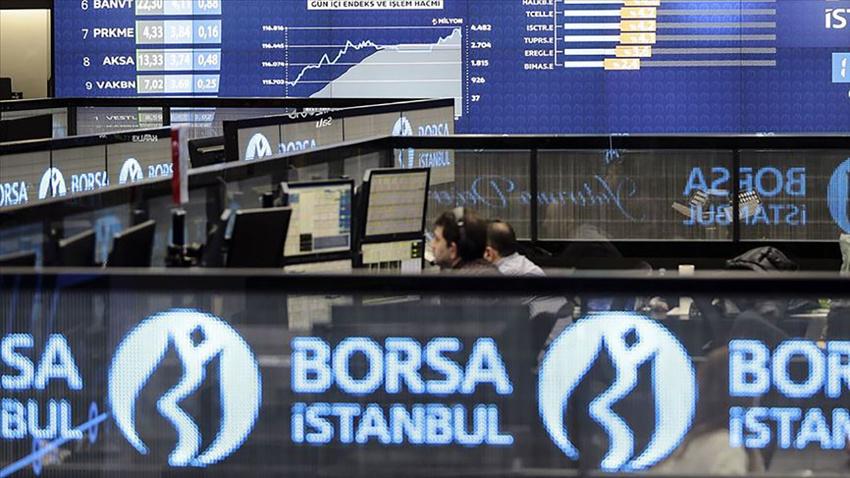 Borsa, günün ilk yarısında geriledi