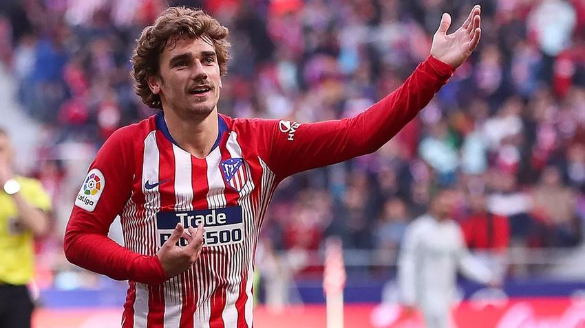 Griezmann Atletico Madrid'e veda etti