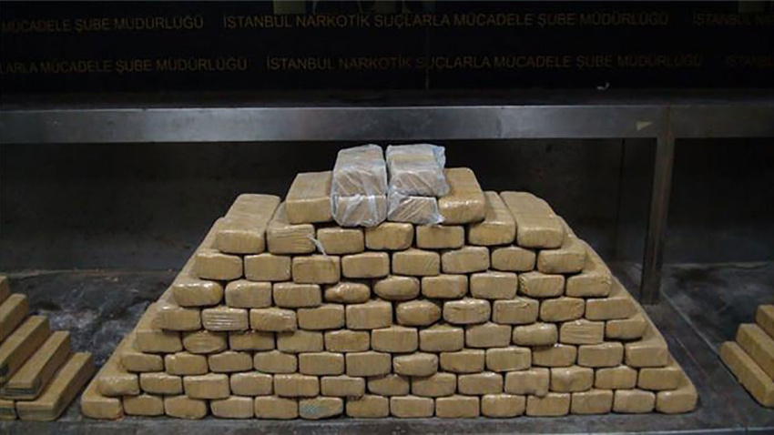 İstanbul'da 10,5 ton uyuşturucu imha edildi
