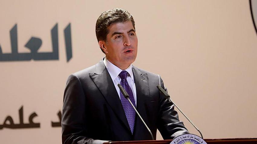 IKBY'nin yeni Başkanı Neçirvan Barzani göreve başladı