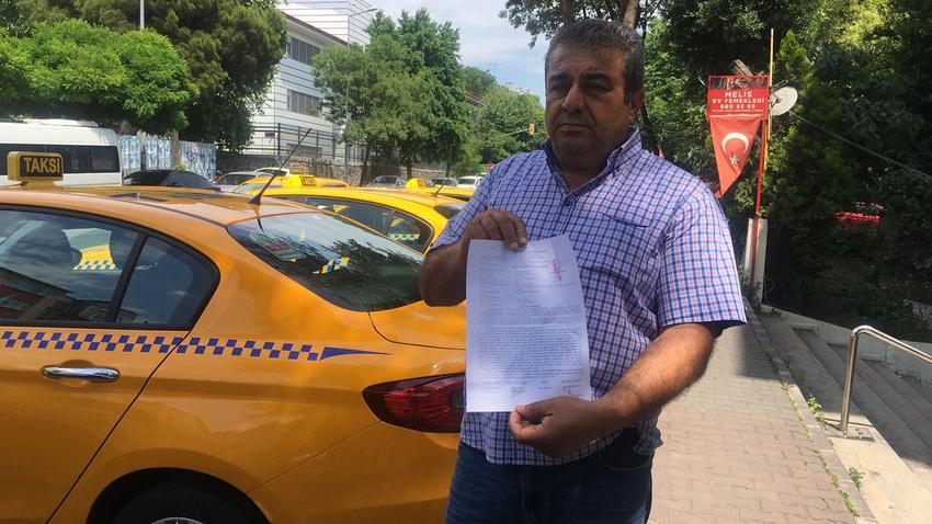 Darp edilen taksici: Ben kimseye tacizde bulunmadım