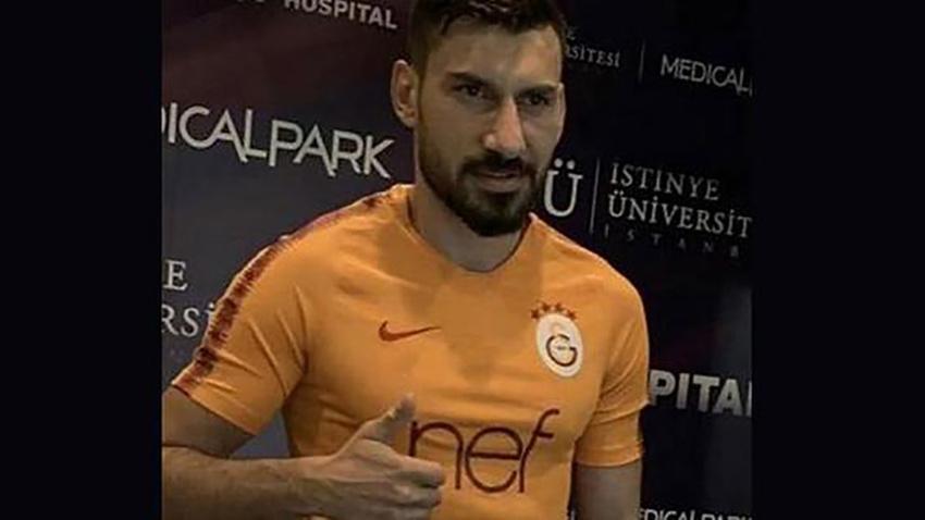 Fenerbahçeli futbolcu Galatasaray formasıyla
