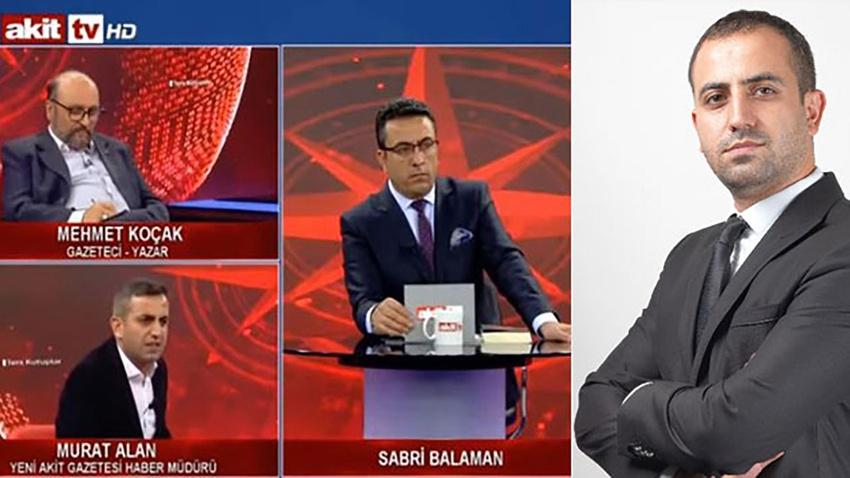 Akit TV Haber Müdürü Murat Alan'a soruşturma!