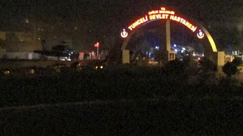 Tunceli'de çatışma: 4 askerimiz ağır yaralı