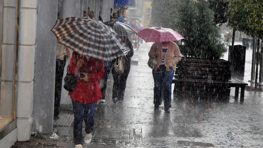 Meteorolojiden sağanak uyarısı:  Bugün öğle saatlerine dikkat!