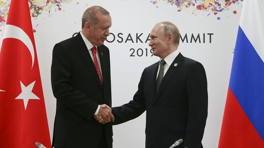 Cumhurbaşkanı Erdoğan Salı günü Putin ile Rusya'da görüşecek
