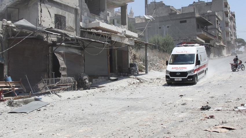 Esad rejimi yine sivilleri hedef aldı