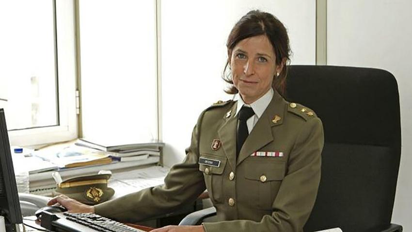 İspanya tarihinin ilk kadın generali