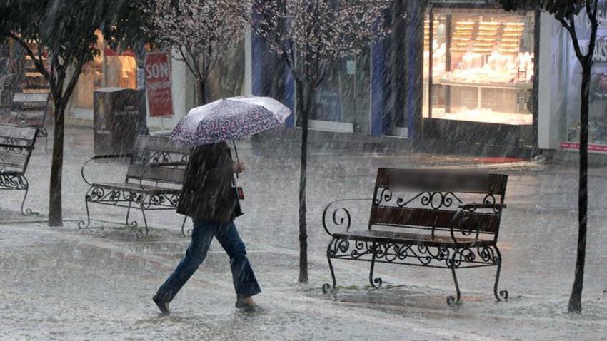 DİKKAT!.. Meteoroloji 6 il için uyardı!.. Şemsiyenizi almayı unutmayın!