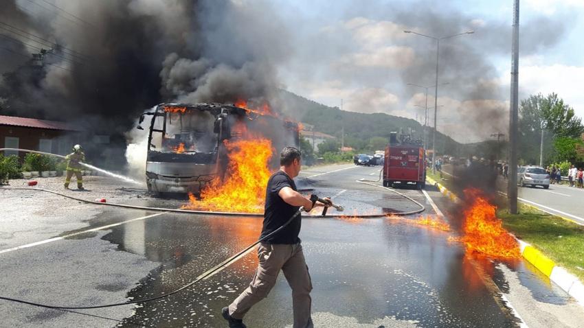 Balıkesir'de otobüste hayatını kaybedenlerin isimleri açıklandı
