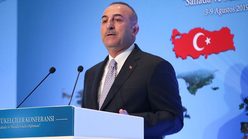 Bakan Çavuşoğlu'dan Doğu Akdeniz mesajı