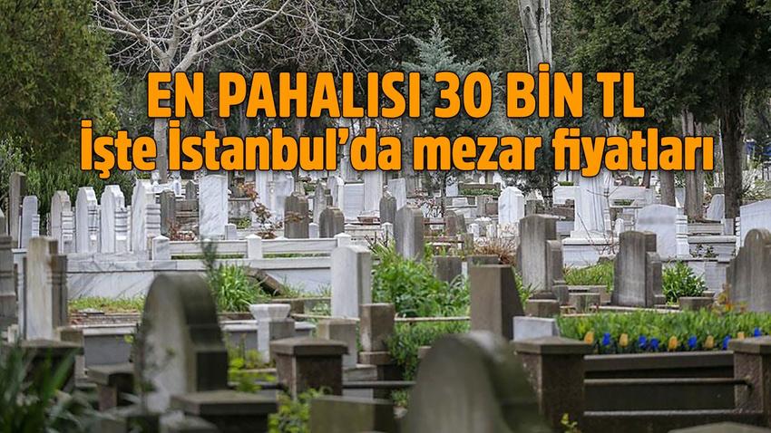 İşte İstanbul'da en pahalı mezar fiyatı!