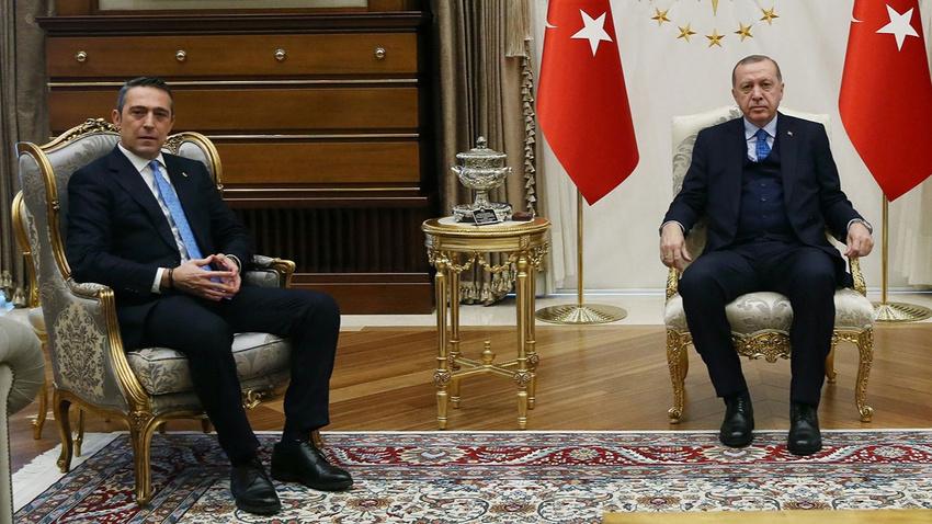 Ali Koç açıkladı: Cumhurbaşkanı Erdoğan 25 yılı doldurarak Fenerbahçe Yüksek Divan Kurulu üyeliğine hak kazandı