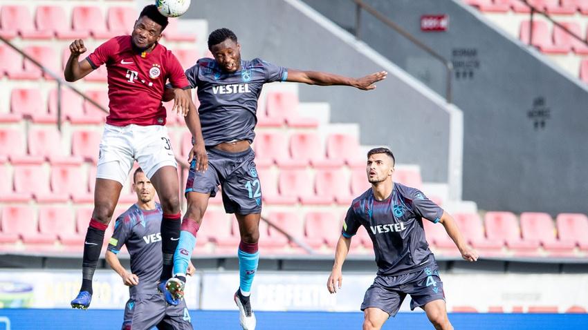 Sparta Prag -Trabzonspor maç sonucu: 2-2