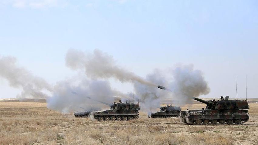 Afrin'deki üs bölgesine saldırı!