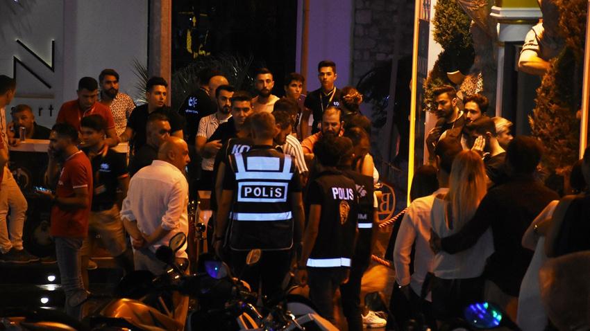 300 polisle barlar sokağına ani baskın