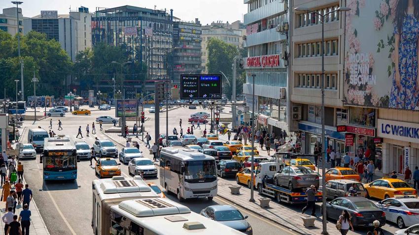 Ankara'da bayram trafiği düzenlemesi