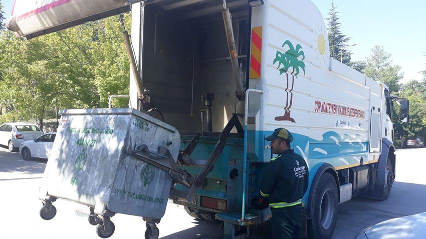 Çankaya Belediyesi temizlik işçileri eylemde!