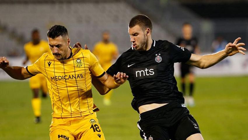 Partizan - Malatyaspor: 3-1 maç sonucu