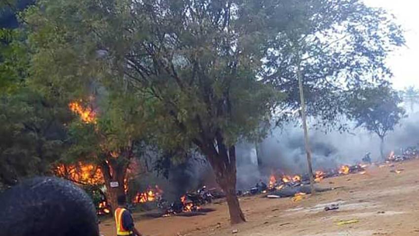 Tanzanya'da petrol tankeri patladı: Çok sayıda ölü var