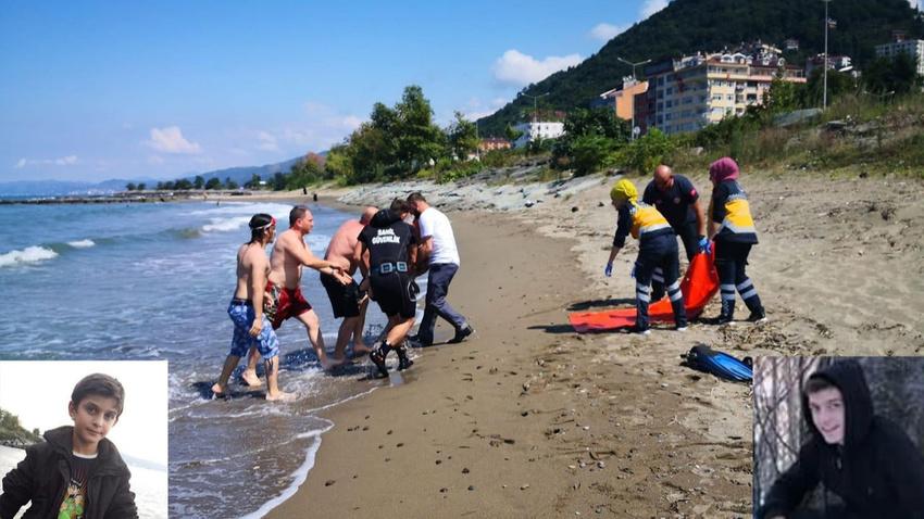 Sürmene'de boğulma tehlikesi geçiren 2 kardeş kurtarılamadı