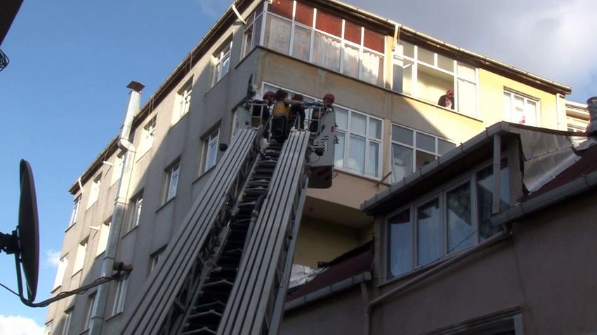 Oğluyla kavga eden baba 5. kattan düştü