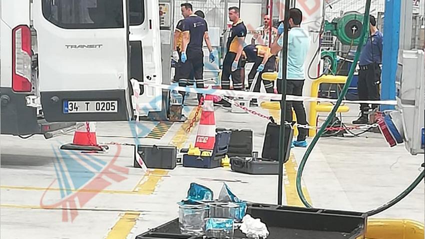 Atatürk Havalimanı'nda feci kaza: 1 ölü 1 yaralı