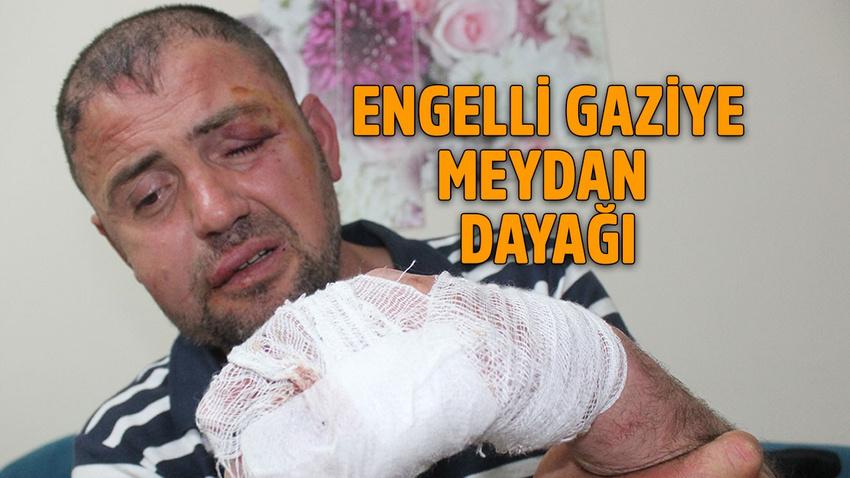 Bursa'da engelli gaziye meydan dayağı