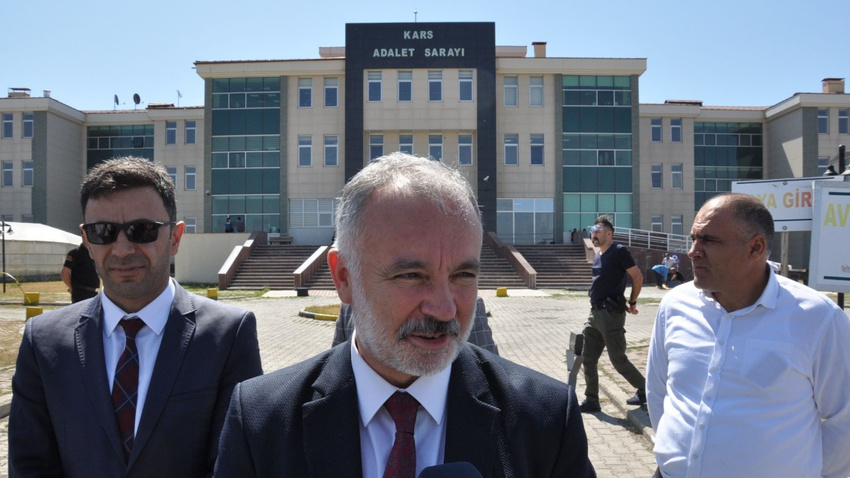 HDP'li Kars Belediye Başkanı Ayhan Bilgen ifade verdi