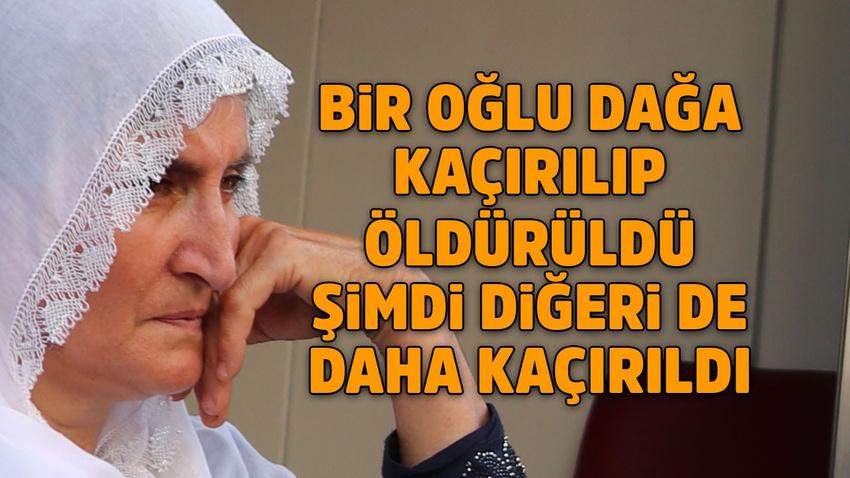 HDP binasının önünde eylem yapan annenin yürek yakan çığlığı