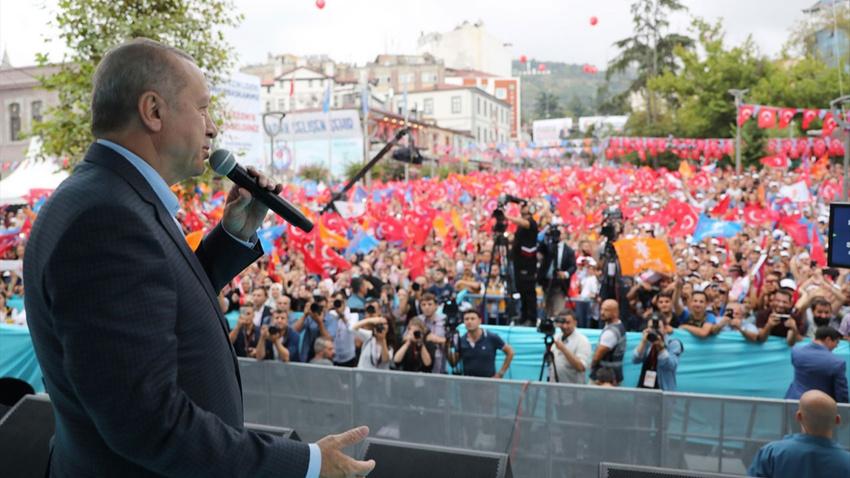 """Erdoğan: """"Şehitlerimizin fedakarlığı boşa gitmeyecek"""""""