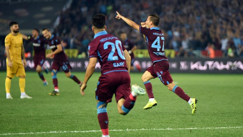 Maç sonucu: Trabzonspor - Yeni Malatya: 2-1