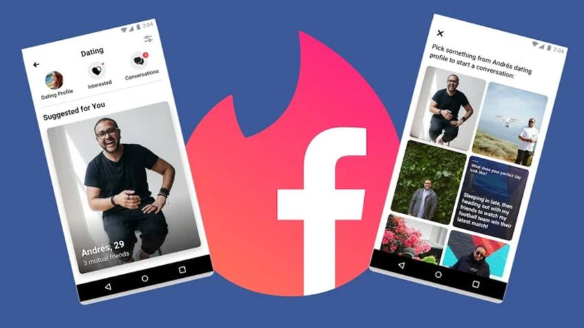 Tinder rakibi Facebook Dating 20 ülkede yayına alındı