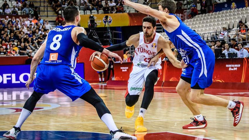 Basketbolda Çekya'ya yenilen Türkiye Dünya Kupası'ndan elendi